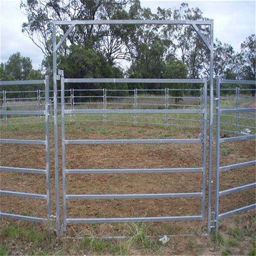 Galvanized cheaper cattle metal fence panel