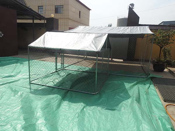 High standard Chain link dog cage use outdoor